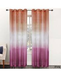 Ombre Sheer Curtains Amazing Deal On N Rainbow Ombre 84 Inch Sheer Curtain Panel 52 X