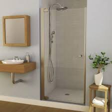 34 Shower Door Maax Insight 34 1 2 In To 36 1 2 In W Swing Open Shower Door In