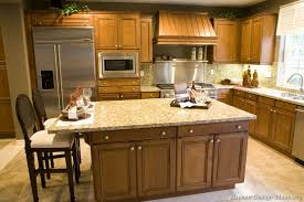 Kitchen Cabinets Layout Ideas by Traditional Medium Wood Golden Kitchen Cabinets 43 Kitchen