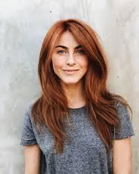 how chelsea houska dyed her hair so red julianne hough debuts new red hair i feel more feminine and