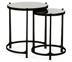 Bronze Accent Table Nesting Tables Iron Nesting Tables Bronze Side Table Bronze Side