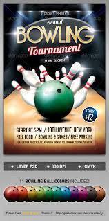 Ten Pin Bowling Sheet Template Bowling Tournament Flyer Bowling Psd Flyer Templates And Flyer