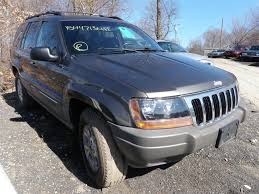 totaled jeep grand cherokee 1999 jeep grand cherokee laredo 4wd quality used oem parts east