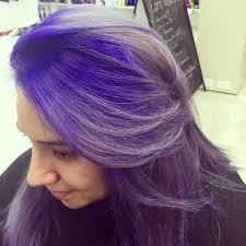 color by bianca purple roots faded to silver yelp