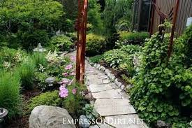 Backyard Pathway Ideas Stepping Stones For Garden Path Gravel Pathway Ideas Medium Image