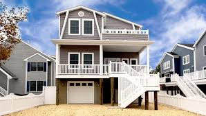 custom modular beach style home builders ocean county modular