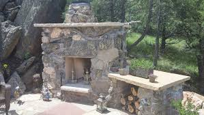 fireplaces u0026 firepits alpine landscaping
