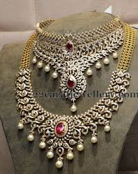 diamond sets design diamond bridal sets by hiya jewles jewellery designs