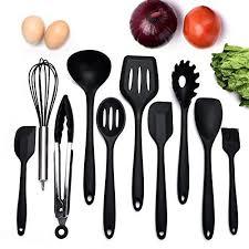 ustensile de cuisine silicone ensemble de 10 ustensiles de cuisine non toxiques en silicone non