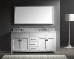 furniture amazing caroline 72 inch double sink bathroom vanity