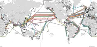 Undersea Cable Map In Our Wi Fi World The Internet Still Depends On Undersea Cables