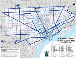Warren Michigan Map by Bus Schedules Find Transportation How Do I City Of Detroit