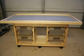 Table W Storage By Geekydad79 Lumberjocks Com