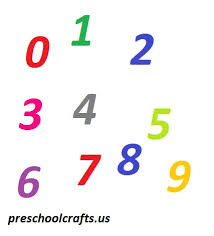 numbers worksheets for kids preschool and kindergarten