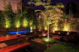 Landscape Lighting Ideas Design Yard Outdoor Lighting Outdoor Lighting On Summer Nights