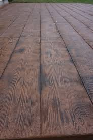 Wood Grain Stamped Concrete by Wood Plank Stamped Concrete Floor Stamped Concrete Wood Plank