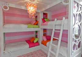 Bunk Beds For 4 Bunk Beds For Bedrooms Cheerful And Contemporary