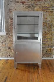 Stainless Steel Medicine Cabinet by Vintage Blickman Stainless Industrial Medical Cabinet Galaxiemodern