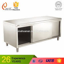 304 stainless steel commercial kitchen cabinet oem sizes