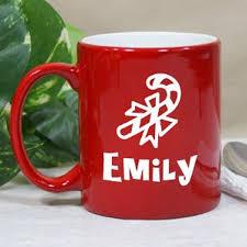 Ceramic Coffee Mugs Personalized Ceramic Christmas Coffee Mug Candy Cane