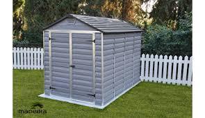 abris de jardin madeira abri de jardin andy en polycarbonate 5 07 m madeira