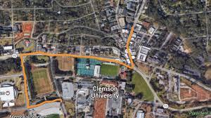 Clemson University Map Clemson National Championship Parade 2017 Start Time Live Stream
