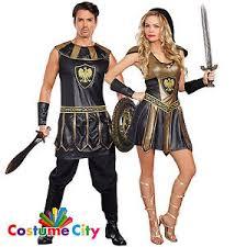 Roman Halloween Costumes Couples Deadly Ancient Warrior Roman Gladiator Halloween Fancy