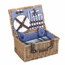 picnic basket set for 4 10 picnic baskets that you can buy right now