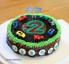 start your engines it u0027s a race car birthday cake mom vs the boys