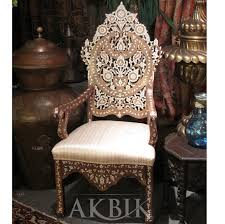 Outdoor Moroccan Furniture by Mediterranean Levantine U0026 Syrian Furniture Inlaid With Mother Of