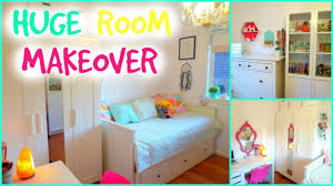 Amazing Room Makeover For Teenagers Small Bedroom Makeover - Bedroom make over ideas