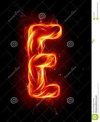 e fire letter e royalty free stock image image 7197616