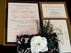 wedding invitations old hollywood glam by alexandrialindo on etsy