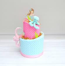 mermaid baby shower decor mermaid cake mermaid shower