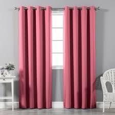 Magenta Curtain Panels Modern 84