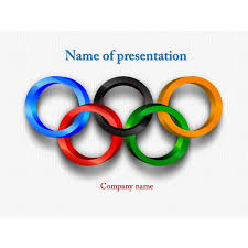 olympic sports powerpoint template powerpoint templates