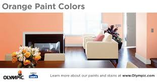 orange paint colors stimulating u0026 fun