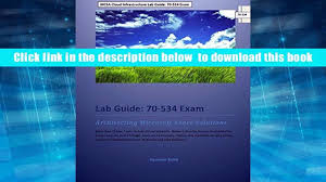 read online mcsa cloud infrastructure lab guide 70 534 exam