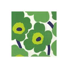 green cocktail marimekko unikko green cocktail napkins marimekko kitchen