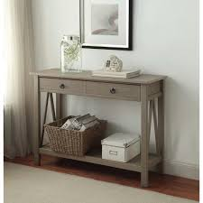 gray rustic accent tables living room furniture the home depot
