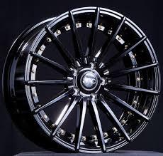 rose gold infiniti car jnc042 gloss black gold rivets wheels infiniti q50 and q50