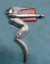 nos jester die cast ornament vintage rod rat rod bike