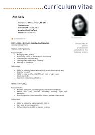 simple curriculum vitae format french resume sle brilliant ideas of french reading