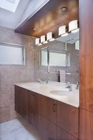 Recessed Bathroom Vanity by Bathroom Vanity Lighting Design Bathroom Contemporary With Wood