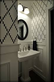 bathroom stencil ideas 106 best powder room ideas images on pinterest powder rooms