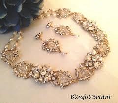 wedding gold necklace sets images Gold wedding necklace set gold jewelry set gold pearl necklace jpg