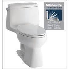 Kohler Comfort Height Round Toilet Shop Kohler Santa Rosa White Watersense Labeled Elongated Chair