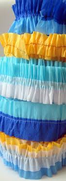streamers paper baby shower ruffled crepe paper party streamers c r a f t
