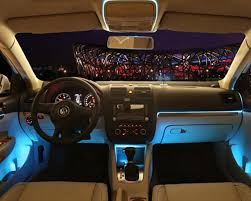 app controlled car lights customized app controlled car interior smart type s el wire led trim