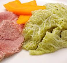 comment cuisiner le chou vert recette potée de chou à la palette plats